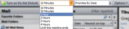 Email Prioritizer, pausa la recepción de correos electrónicos en Outlook