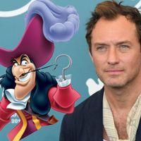 Jude Law es el elegido para encarnar al Capitán Garfio en el remake de 'Peter Pan' que dirigirá David Lowery