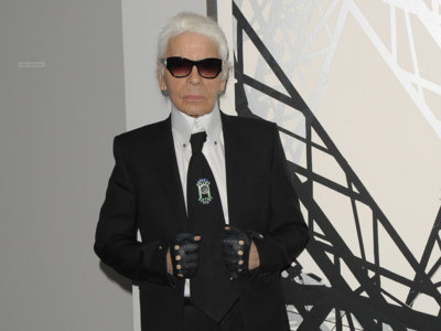 Lagerfeld premiado con el Outstanding Achievement Award por el British Fashion Council