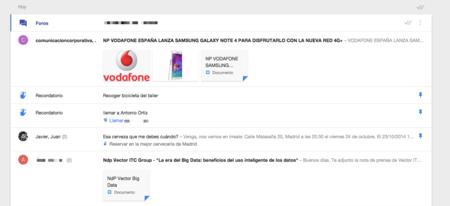 Nueva Interfaz Inbox