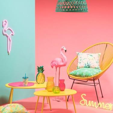 La última colección de Maisons du Monde se llama Sweet Tropical y es una explosión de alegría y color que te ayudará a crear ambiente en tu hogar