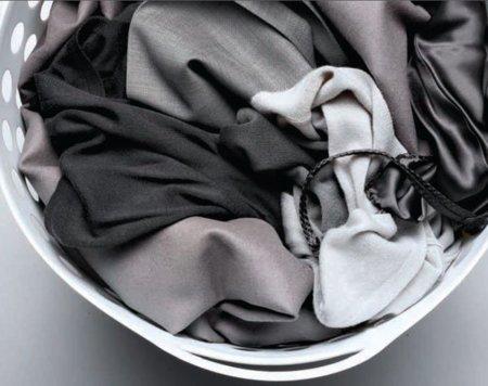 Ropa en la lavadora