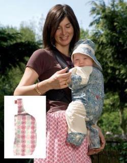 Traje protector de sol para el bebé que va en mochila