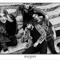 Jon Kortajarena, Marlon Teixeira y un largo etcétera protagonizan la nueva campaña de Balmain