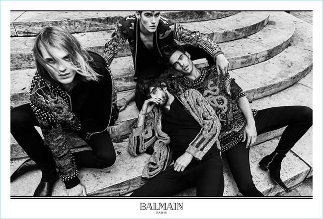 Balmain Fall Winter 2017 Campaign