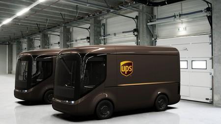 UPS pondrá a rodar en Londres y París una nueva y futurista flota de furgonetas eléctricas