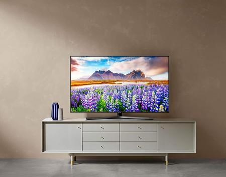 """Diseño premium y AirPlay 2 en el televisor de 55"""" Samsung 4K 55RU7475, ahora más barato que nunca en Amazon por 449 euros"""