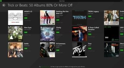 Microsoft ofrece enormes descuentos en música para sus usuarios gracias a Music Deals