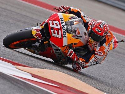 En MotoGP Marc Márquez se anota el primer punto en Texas, con Johann Zarco y Máverick Viñales muy cerca