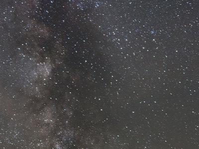 Mi primera vez con la Vía Láctea