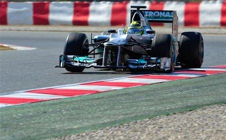 """Nico Rosberg: """"Traer el coche al segundo test fue la decisión correcta"""""""
