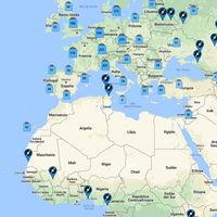La geografía del vinilo: el mapa definitivo de todas las tiendas del mundo que aún los venden