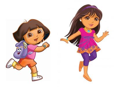 """Y Dora la Exploradora creció y se convirtió en una niña """"fashion"""""""