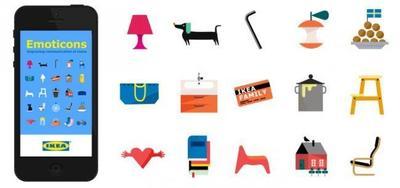 Un mueble vale más que mil palabras. Ikea lanza sus emoticonos para el móvil