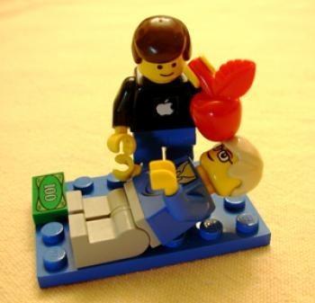 Muñeco Lego de Steve Jobs de venta en eBay