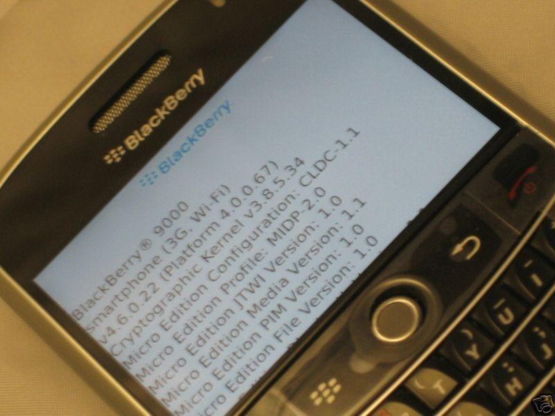 Foto de BlackBerry 9000 eBay (5/6)