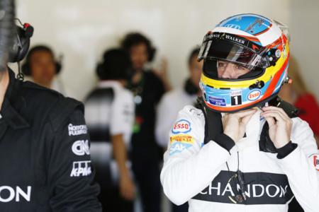 Fernando Alonso Parrilla Gp Espana 2016