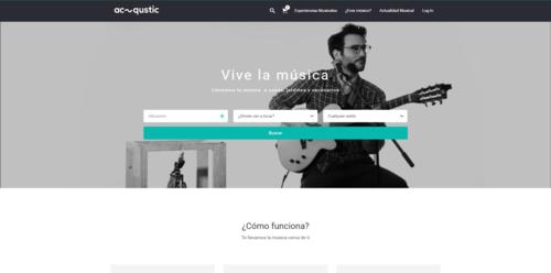 Así es Acqustic, la startup española que quiere llevar música en directo a tus eventos sociales
