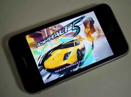 Probamos Asphalt 5 para el iPhone e iPod touch