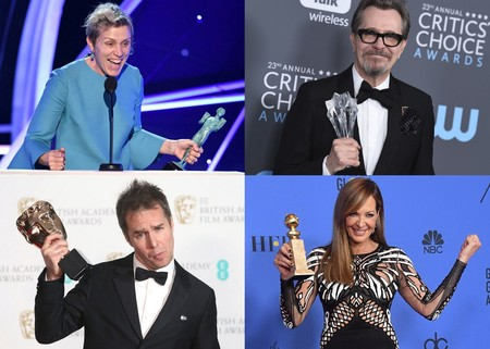 Los actores triunfadores de este año