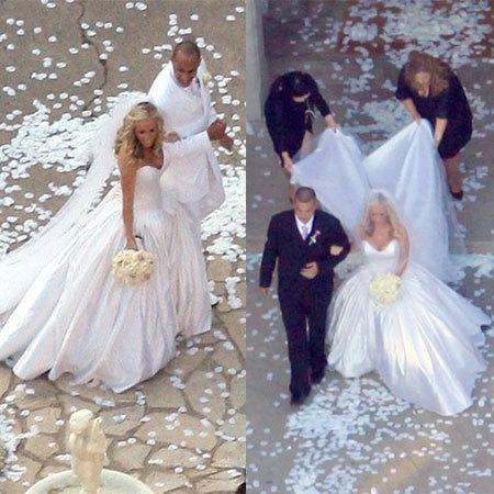 El vestido de novia de Kendra Wilkison
