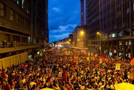 Manifestacion Dilma