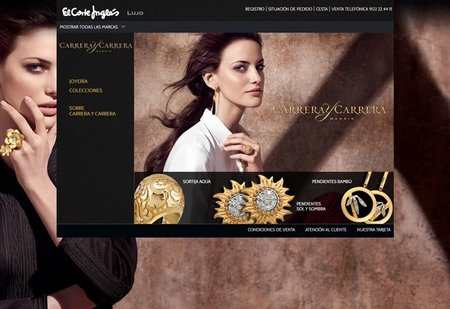 Carrera y Carrera estrena boutique on line