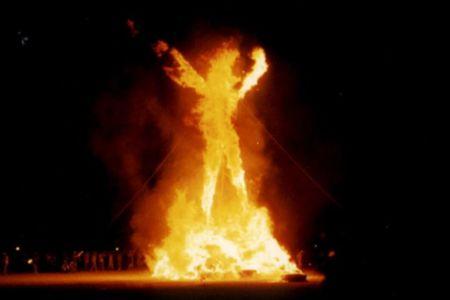 El Burning Man: el festival donde el dinero carece de valor