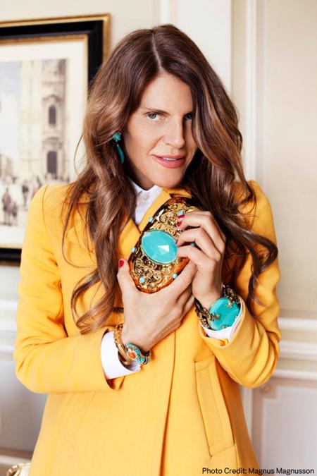 Anna Dello Russo diseñará una colección de complementos para H&M