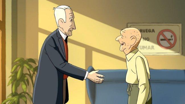 'Arrugas' es una adaptación del cómic de Paco Roca