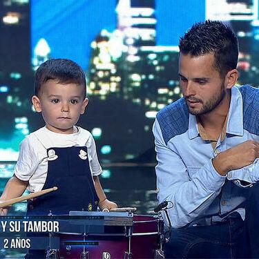 El niño de dos años que toca el tambor y arrasa en 'Got Talent' nos ha dejado a todos alucinados