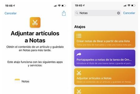 Apple actualiza Atajos a la versión 2.2 y se integra con Notas