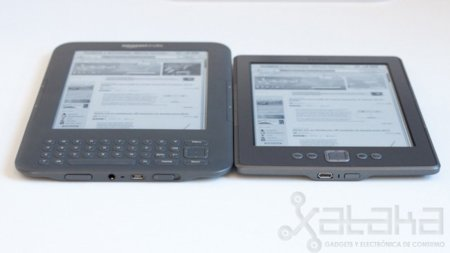 Kindle Keyboard y Kindle 4