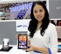 Samsung empezará a fabricar en septiembre su pantalla Super AMOLED de 7 pulgadas