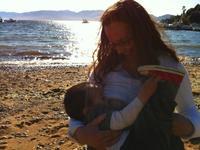 La foto de tu bebe: Felipe con mamá