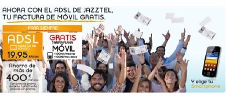 Jazztel nos ofrece gratis nuestra factura de móvil contratando su 'pack ahorro'