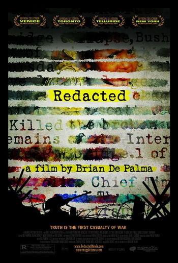 Póster, teaser trailer y un escena de 'Redacted' de Brian De Palma
