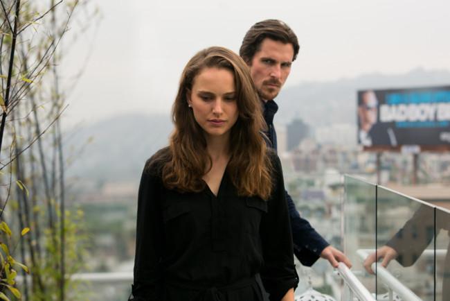 Natalie Portman y Christian Bale en Knight of Cups