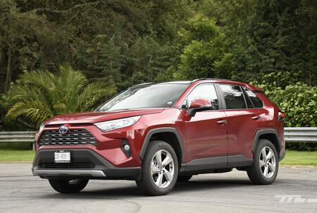 Toyota Rav4 Hybrid 2021 Opiniones Prueba Mexico 4