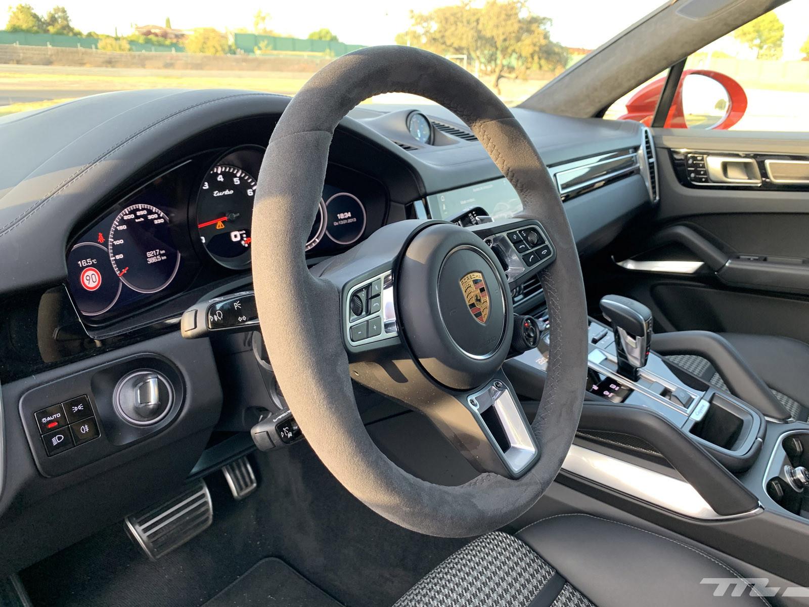 Foto de Porsche Cayenne Coupé Turbo (prueba) (33/42)