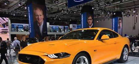 ¡Más madera! El Ford Mustang llegará a Europa con más potencia en el V8 (pero menos en el EcoBoost)