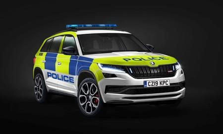 Skoda Kodiaq Rs Policia Reino Unido
