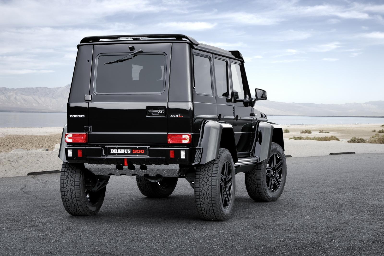 Foto de Brabus Mercedes-Benz G 500 4x4² (3/11)