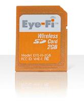 Eye-Fi, tarjeta de memoria con WiFi y poco más