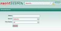 RapidZearch, busca archivos en RapidShare y otros servidores de descarga directa