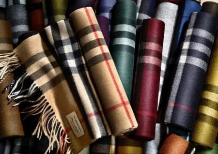 Burberry Scarf Bar: tu bufanda personalizada perfecta para el invierno