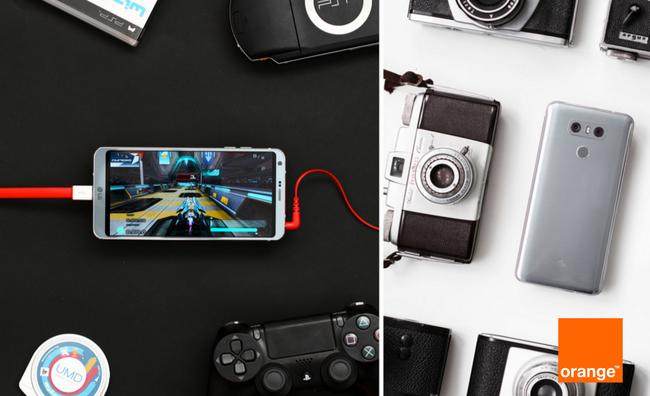 Precios LG G6 con pago a plazos Orange