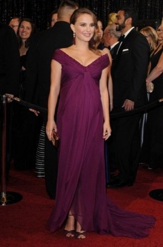 Natalie Portman zapatos Oscar 2011