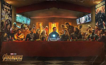 El Ultimo Shawarma Vengadores Infinity War