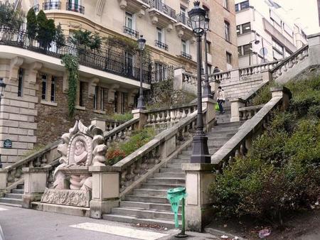 La París menos conocida: las escalinatas de Luís Vaz de Camões